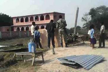 दशगजामा एसएसबीले निर्माण गरेको टहरा हटाइयो