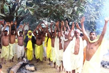 काफ्ला बाबाहरुद्वारा वागेश्वरी तित्रौनामा भव्य पूजापाठ