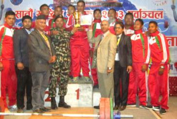 भारोत्तोलन प्रतियोगितामा १४ नयाँ किर्तिमानः नेपाली सेना प्रथम, नेपाल प्रहरी द्वितीय र पूर्वाञ्चल तृतीय