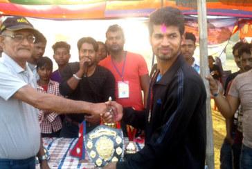 आइतवारको खेलमा विष्णुपुर क्रिकेट टिम विजयी