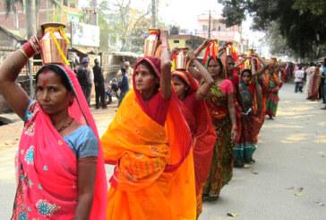 खुरहुरियामा श्रीमद् भागवत महापुराण सप्ताह ज्ञान महायज्ञ शुरु(फोटो फिचर समेत)