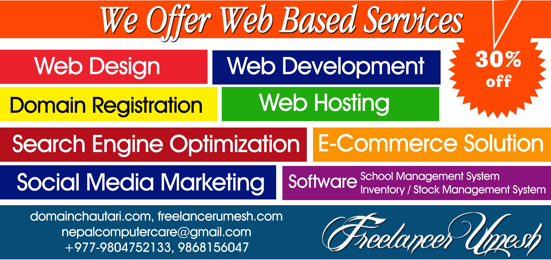 Freelancer Umesh New Services