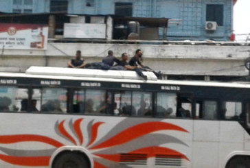 सप्तरीमा प्रहरी र राजपा कार्यकर्ताबीच झडप, राजपाका दुई जना घाइते