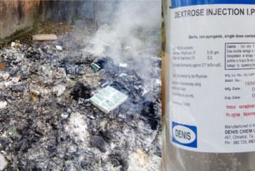 जनस्वास्थ्य कार्यालयले जलाए लाखौंको औषधीः सभापति ठाकुर भन्छिन् 'दोषीलाई कार्वाही हुन्छ' (फोटो फिचर समेत)