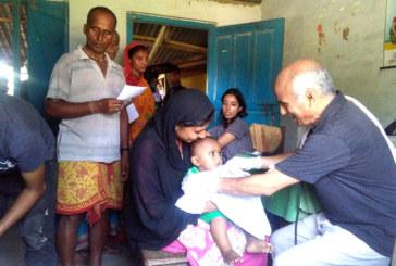 डा. केसी निःशुल्क स्वास्थ्य शिविर छोट्याएर काठमाण्डौ प्रस्थान